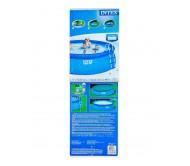 Easy Set, бассейн надувной 457х122 см (лестница, тент, подстилка, насос с фильтром 220V)