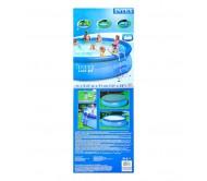 Easy Set, бассейн надувной 457х91 см (лестница, подстилка, тент, насос с фильтром 220V)
