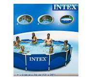 Каркасный бассейн круглый 366х76 см (в комплекте: насос с фильтром 220V)