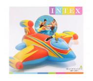 Надувная игрушка для плавания Самолет с ручками 147х127 см, от 3 лет