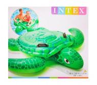 Надувная игрушка для плавания Черепаха с ручками 150х127 см, от 3 лет