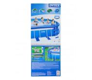 Надувной бассейн OVAL FRAME 610х366х122 см (насос с фильтром 220V, лестница, подстилка, тент)