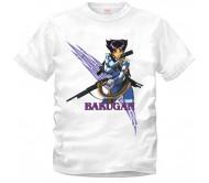 Белая футболка Бакуган (BAKUGAN)