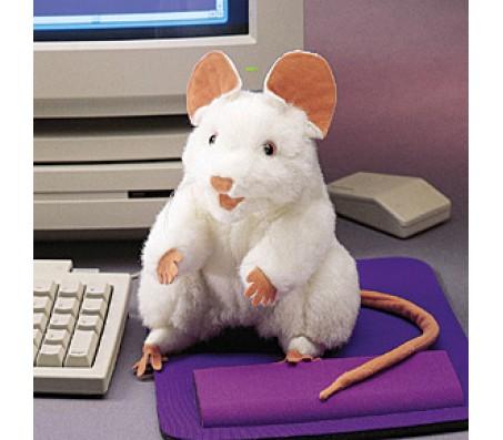Белая мышь, 20 смМарионетки (перчаточные куклы)
