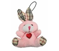 Брелок зайчик с сердечком