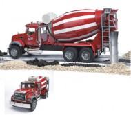 BRUDER Бетономешалка N MACK Granit Truck