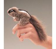 Бурундук на пальчик (мини)