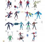 Человек паук фигурка и аксессуар