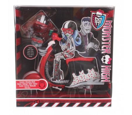 Скутер с аксессуарами Monster HighКуклы Школа монстров (Monster high)
