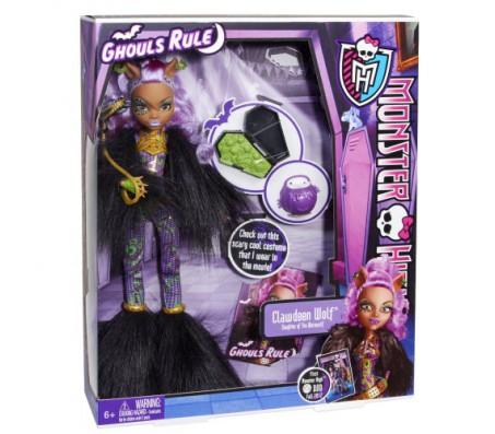 Clawdeen Wolf карнавальный костюм Ghouls RuleКуклы Школа монстров (Monster high)