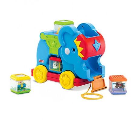 Слоненок с кубиками FisherPriceКубики для малышей