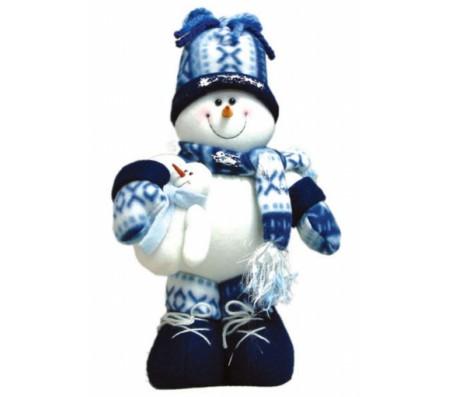 Снеговик 30смШары, гирлянды, дождик