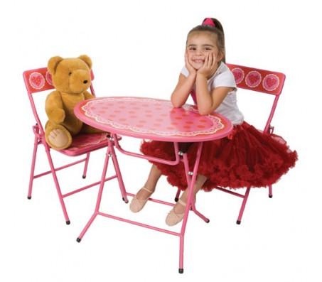Столик детский  Цветной  с 2 стульямиНаборы для рисования