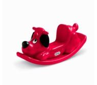 Детская качалка собака (красная) Little tikes