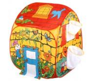 Детская палатка с корзинами для мячиков