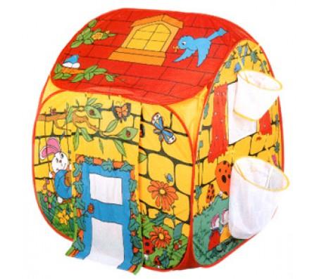 Детская палатка с корзинами для мячиковДетские палатки, домики
