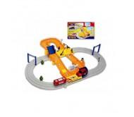 Детская железная дорога поезд и автомобиль