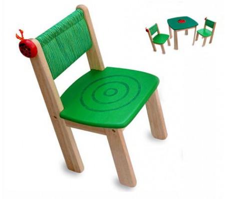 Детский стульчик деревянный Im ToyСтолы, парты и стулья