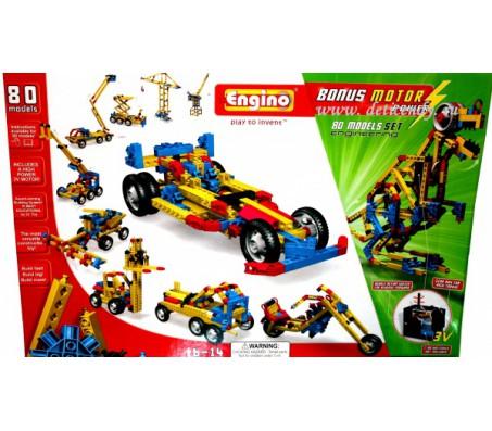 Детский конструктор Engino 80 моделейEngino