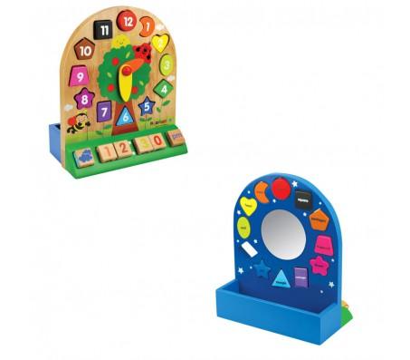 Детский набор Часы KidiwoodКубики для малышей