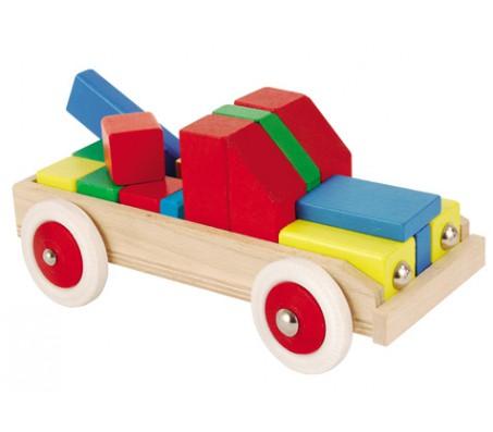 Детский пазл автомобиль HerosКубики для малышей