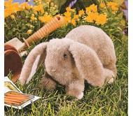 Детеныш вислоухого кролика, 23 см folkmanis