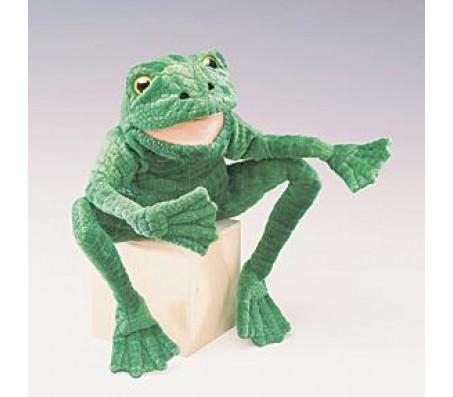 Длинноногая лягушка, 38 см folkmanisМарионетки (перчаточные куклы)