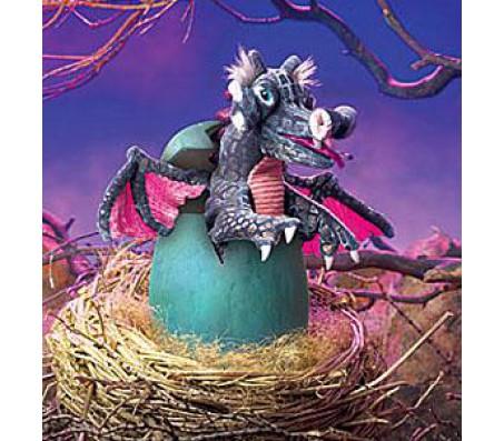 Дракон в яйцеМарионетки (перчаточные куклы)