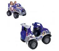 Двухместный Детский электромобиль Feber
