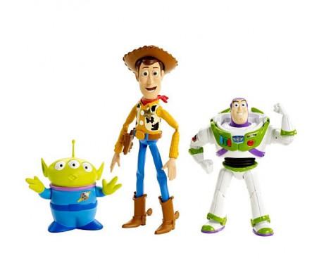 Фигурки Баз Лайтер, Вуди, АлиенИстория игрушек (Toy Story)