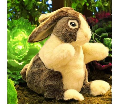 Голландский кролик, 25 см FolkmanisМарионетки (перчаточные куклы)
