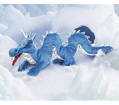 Голубой дракон игрушка FolkmanisМарионетки (перчаточные куклы)