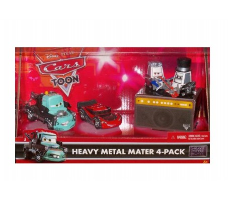 Heavy metal Mater 4 Pack Байки мэтраТачки (Cars)