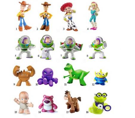 История Игрушек 3 ФигуркиИстория игрушек (Toy Story)