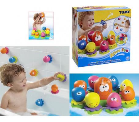 Игрушка для купания Осьминожка TomyДля купания
