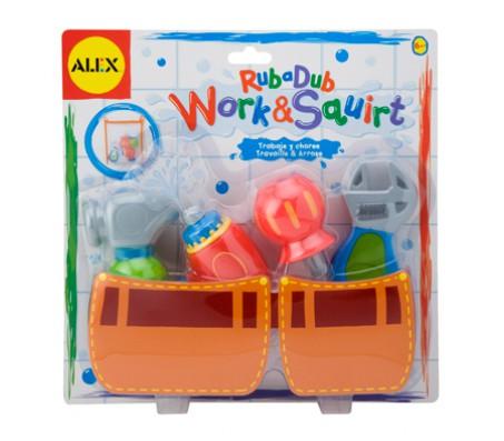 Игрушка для ванны Маленький строительДля купания