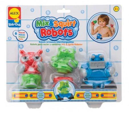 Игрушки для ванны РоботыДля купания