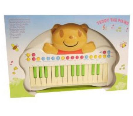 Игрушки Potex - Пианола мишка 25 кл.Музыкальные игрушки
