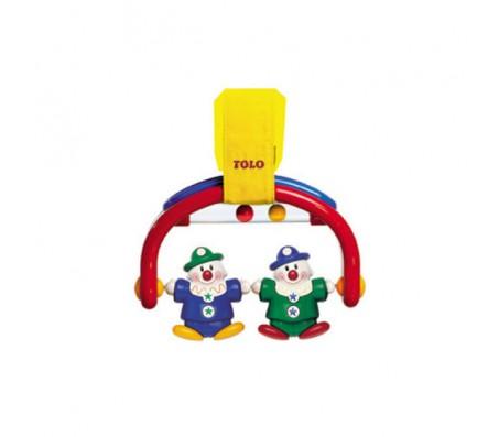 Игрушки Tolo toys - Погремушка на кроватку КлоуныПогремушки, подвески, прорезыватели