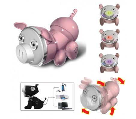 Интерактивный музыкальный поросенок (свет, движения)Интерактивные игрушки животные