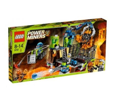 Конструктор Lego Power Miners Тюрьма Лаватрас  54x29x8 смЛего Горняки проходчики (Lego Power Miners)