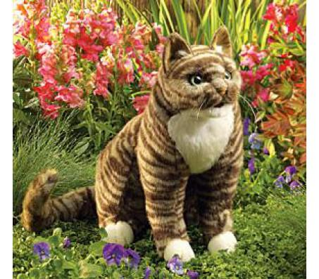 Кот полосатый, 33 смМарионетки (перчаточные куклы)