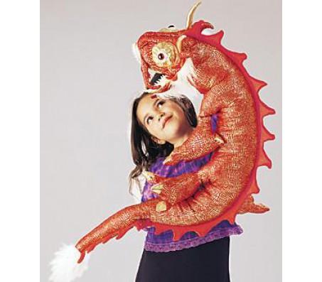 Красный дракон, 122 смМарионетки (перчаточные куклы)