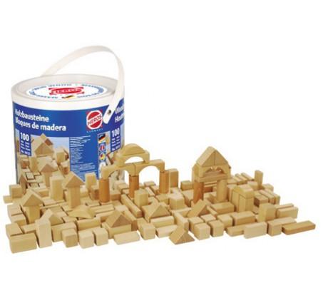 Кубики деревянные 100 штук HerosКонструкторы, детские кубики Heros