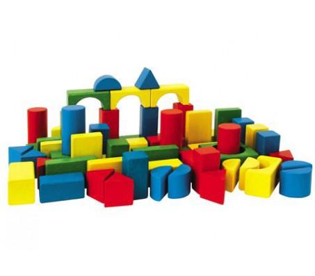 Кубики деревянные 30 штукКонструкторы, детские кубики Heros