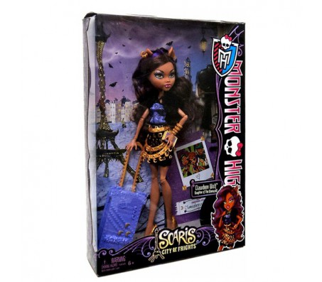 Кукла Clawdeen Wolf из серии Scaris City of FrightКуклы Школа монстров (Monster high)