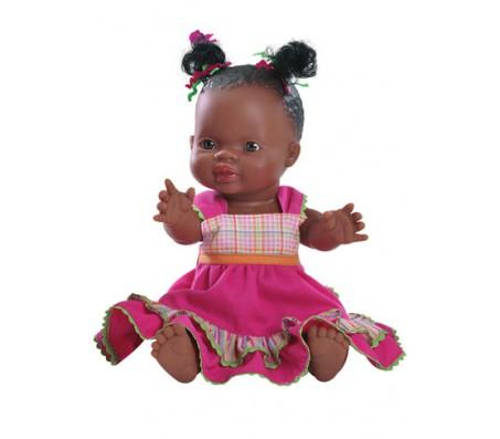 Кукла девочка мулатка PaolaReinaКуклы мягконабивные