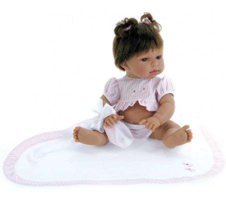 Кукла Ева брюн. в розовомКуклы пупсы