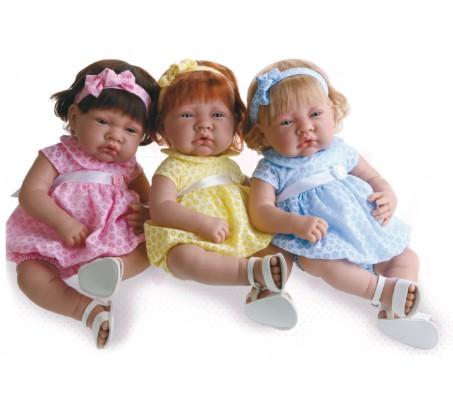 Кукла Флора в желтом (Munecas Antonio Juan)Говорящие куклы