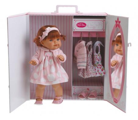 Кукла Франциска с гардеробомКуклы пупсы
